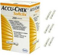 Ланцети «Акку Чек Софтклікс» (Accu-Chek Softclix), 200 шт, Roche Diagnostics Gmbh, Німеччина