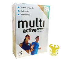 Витамины MultiActive Formula от Fitness Authority 60 таб.