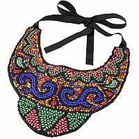 Ожерелье-воротник P001578  Эстела разноцветное