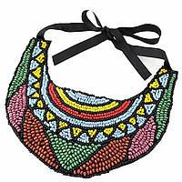 Ожерелье-воротник Эркилия P001579 разноцветное