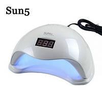 УФ LED лампа с таймером SUN 5 48W