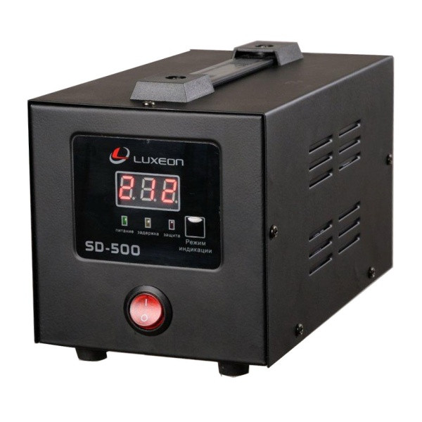 Стабілізатор напруги релейний Luxeon SD-500 500Вт