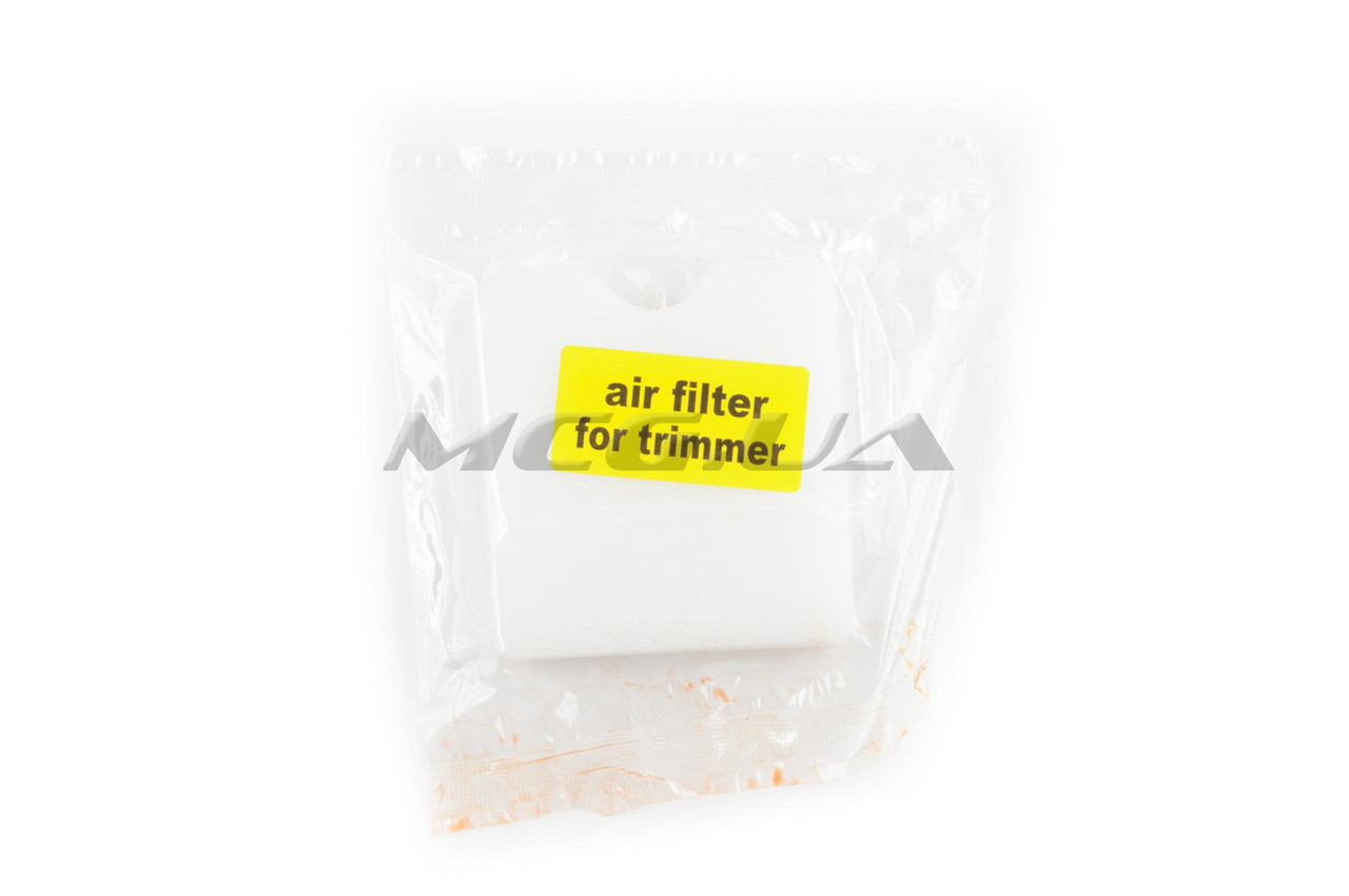 Элемент воздушного фильтра мотокосы   квадратный   (поролон сухой)   (белый)