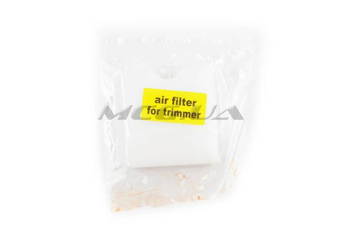 Элемент воздушного фильтра мотокосы   квадратный   (поролон сухой)   (белый), фото 2