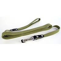 Collar поводок для собак брезент 300смх20мм