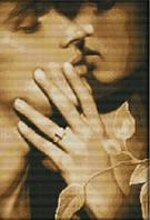 Вышивка крестиком Страстный поцелуй 34х46 см (арт. MK027)