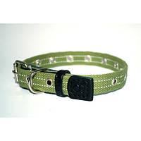 Collar ошейник для собак брезент безразмерный 41смх20мм