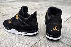 Мужские кроссовки Nike Air Jordan 4 Royalty Black 308497-032, Найк Аир Джордан 4, фото 3