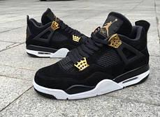 Мужские кроссовки Nike Air Jordan 4 Royalty Black 308497-032, Найк Аир Джордан 4, фото 2