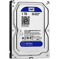 Жесткий диск 3.5' 1Tb Western Digital Blue, SATA3, 64Mb, 5400 rpm (WD10EZRZ) Б/Н