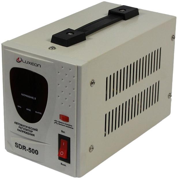 Стабілізатор напруги релейний Luxeon SDR-500va 500Вт