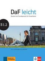 Schwarz E. DaF leicht B1.2. Deutsch als Fremdsprache f& 252;r Erwachsene. Kurs - und& 220;bungsbuch mit DVD-ROM (+ DVD)