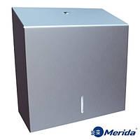 Держатель для бумажных полотенец из матовой нержавейки 500 шт. Merida Stella Maxi, Польша