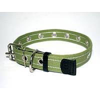 Collar ошейник для собак брезент безразмерный 52смх25мм