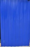 Профнастил синий,   8-ми волновой, 2м Х 0,95м распродажа остатков