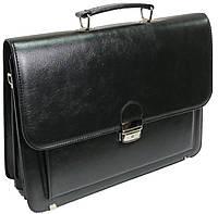 Портфель деловой из искусственной кожи 4U Cavaldi черный 14A