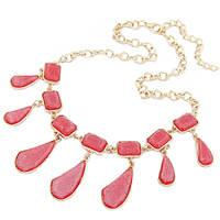 Ожерелье Гранди розовое