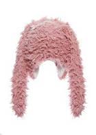 Необычная меховая шапочка для девочек, PUPILL Польша