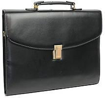 Портфель деловой из искусственной кожи B-195, 4U Cavaldi черный