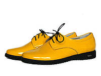 Желтые женские туфли, фото 1