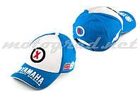 Бейсболка бело-синяя YAMAHA AND 99X JORGE LORENZO