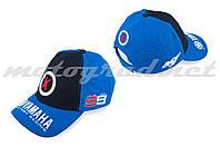 Бейсболка черно-синяя YAMAHA AND 99X JORGE LORENZO