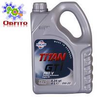 Масло моторное синтетическое Fuchs Titan GT 1 Pro V 0W-20, 4л