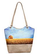 Текстильная сумка XYZ Плетёнка Жито Сноп