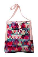 Текстильная сумка XYZ Мишелька Калейдоскоп