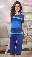 Пижама женская футболка с бриджами, Турция