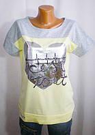 Модная практичная футболка для девушки