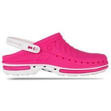 Взуття медична Wock, модель CLOG09 (Біло-рожеві)