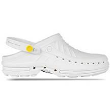 Обувь медицинская Wock, модель CLOG10 (Белые), по предоплате