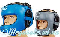 Шлем боксерский с бампером Elast 5240 (шлем бокс): кожа, M/L/XL