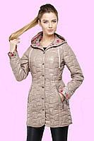 Элегантный демисезонный плащик приталенного силуэта, с длинными рукавами. р.44.46.48.50.52