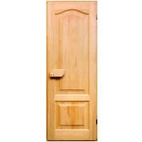 Деревянная дверь с липы 700х1900см.