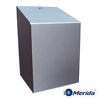 Держатель для бумажных полотенец в рулонах из матовой нержавейки Merida Stella Maxi, Польша, фото 1
