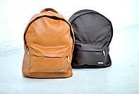 Женский рюкзак из кожзама, коричневый и шоколадный