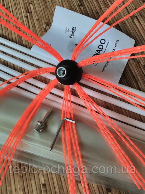 Tornado набор для чистки дымохода виды дымоходов для бань