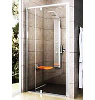 Дверь душевая Ravak PDOP2-100 Transparent+White/White, фото 1