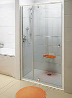 Двери душевые Ravak PDOP2-110 Transparent+White/White, фото 1