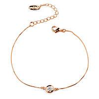 Покрытый золотом женский Браслет-цепочка на руку Менора 915667