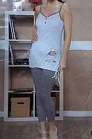 Пижама женская футболка с бриджами, Moyra Caprise, Турция