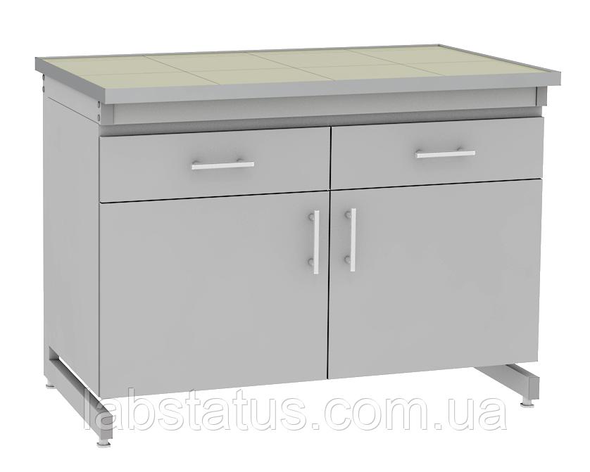 """Стол лабораторный """"ЕВРО"""" СЛП-3.091.05 (2 секции)"""