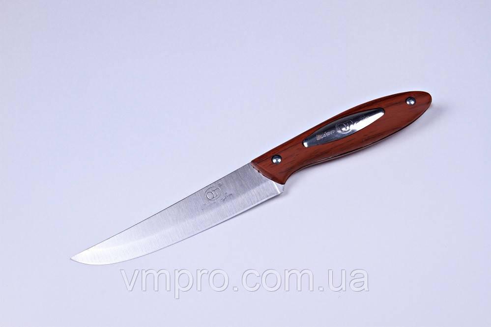 """Нож кухонный """"DianJin"""",нож """"Диана"""" универсальный,23.5 см,ручка под осину, фото 1"""