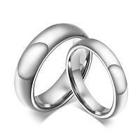 Парные кольца Классика 176181 из карбида вольфрама