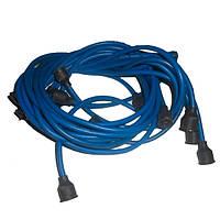 Провод высокого напряж. (силикон)(к-т 9 шт.) ЗИЛ-130