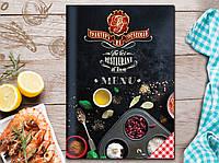 Дизайн  меню для ресторана, бара, кафе
