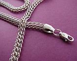 Серебряная цепочка Венеция, 50 см., 15 гр., фото 3