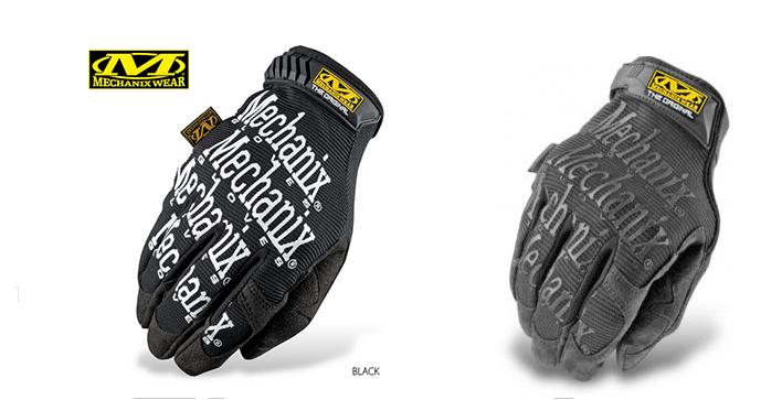 Тактические перчатки MECHANIX на полный палец